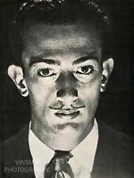 1929 MAN RAY 12X16 Matted Vintage Photo Engraving SALVADOR DALI Surrealism Art