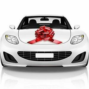 Big Car Bow Shiny Red 18 inches  Gift Bow, Giant Bow for Car, Bike, Birthday
