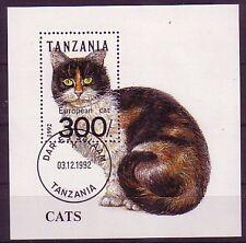 Tansania Block aus aller Welt gestempelt ( intern : 295 )