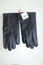 Paire de gants noire en cuir neuf taille 7.1/2 de marque DENTS 1777