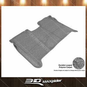 All Weather Floor Mat Set For 04-15 Nissan Titan Gray Rear Classic