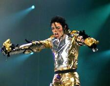 Michael Jackson With Gold Dress 8x10 Picture Celebrity Print