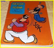 Quaderno a righe Vintage copertina con disegni e scritta Braccio di Ferro
