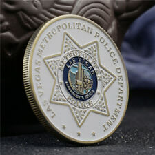 US Las Vegas Police Department Duty&Guard ST. Michael Challenge Coin Collectible