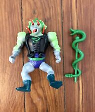 Vintage 1986 Snake Face Masters of the Universe Original Action Figure & Staff