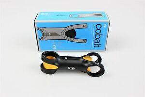 CrankBrothers Cobalt 3 Vorbau schwarz - gold 100 mm 31.8 mm