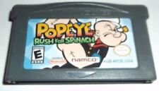 Popeye: Rush for Spinach (Nintendo Game Boy Advance, 2005) **CARTRIDGE ONLY**