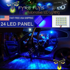 1x Super Bright Blue 24 LED Panel Light for Dome, Map, Cargo, Trunk lights #24PB