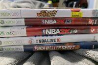 Xbox 360 Lot 6 Games