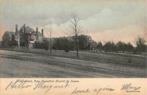 MIDDLETOWN, CT, STATE INSANE HOSPITAL, VARIETY OF BUILDINGS, HAZEN PUB used 1906