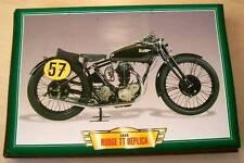 RUDGE TT REPLICA 500 SINGLE CLASSIC MOTORCYCLE RACE BIKE 1930'S PICTURE 1933