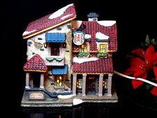 Christmas hotel Wendy inn holiday lighted village house 2001