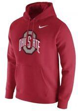 Nike Men's Ohio State Osu Football Club Fleece Sweatshirt Hoodie Xl Extra Large