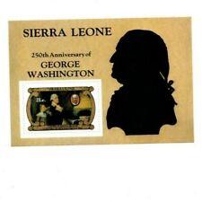 VINTAGE CLASSICS - Sierra Leone 560 George Washington - Souvenir Sheet - MNH