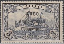 GERMANY KOLONIEN TOGO Britische-Bes.Mi.12.Pr.28000€. Signed