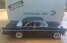 Danbury Mint 1956 Chrysler 300B Hardtop 1/24 Raven Black Original Box/Title MIB