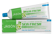 Jason Mar Fresco Anti-cavidad & fortalecimiento Menta Verde Gel Pasta de dientes 170g