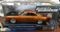Fast & Furious 7 Metals Diecast Model Car Dom's 440 Plymouth Road Runner 1:24