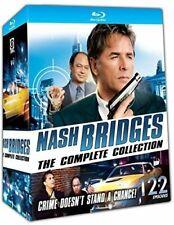 Nash Bridges Complete Collection TV Series Seasons 1-6 Box Blu-ray Set Episodes
