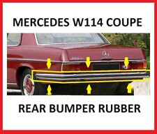 Mercedes W114 Coupe Rear Bumper Rubber Brand New Item