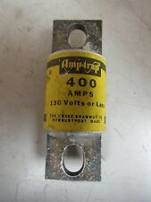 NEW CHASE-SHAWMUT AMP-TRAP FUSE A13X400 TYPE 4 400A 400 AMP A 130V