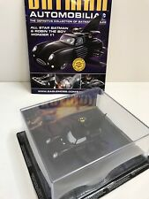 BATMAN AUTOMOBILIA DIE CAST CAR AND CASE EAGLE MOSS COLLECTABLE No 39