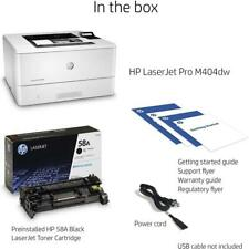 W1A56A⭐⭐Brand New HP LaserJet Pro M404dw Printer/ NIB ⭐⭐ 12 Month Warranty