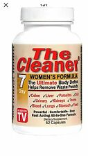 The Cleaner Women's 7 Day Formula 52 Cap Fast Free 1st Class Shipping Body Detox