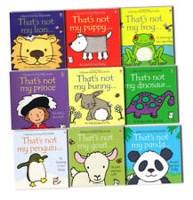 Thats Not My Touchy Feely Collection 9 Books Pack Set By Fiona Watt-Frog, Puppy