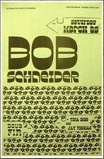 BOB SCHNEIDER 2008 Gig POSTER Portland Oregon Concert