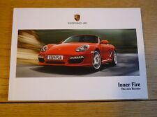 Porsche Boxster directa Mailer folleto 2009 mi