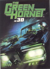 THE GREEN HORNET IN 3D MOVIE 2011 SAN DIEGO COMIC CON SDCC PROMO CARD CP1  MO