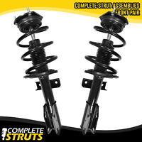 08-12 Buick Enclave Quick Complete Front Struts & Coil Springs w/ Mounts Pair x2