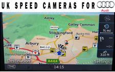Audi A3 S3 RS3 8V Sat Nav Speed Cameras & Alerts 2017-2020 MMI Cams on SD card