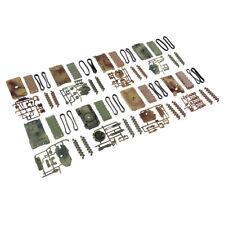 4d 8 pièces / lot guerre mondiale ii modèle réservoirs 1:72 en plastique