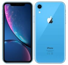 "Apple iPhone XR 4G 6.1"" Smartphone 3GB RAM 64GB Unlocked Sim-Free - Blue A"