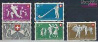 Schweiz 555-559 postfrisch 1951 Pro Patria (7387779