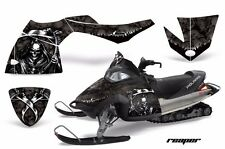 AMR Racing Sled Wrap Polaris Fusion Snowmobile Graphics Kit 2005-2007 REAPER BLK