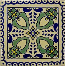 Espada Verde (Green Sword) Talavera Tile