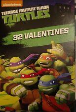 TMNT Teenage Mutant Ninja Turtles 32 Valentines Cards Classroom Party Supplies
