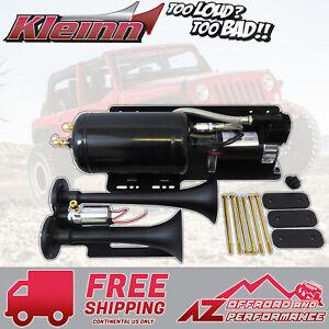 Kleinn Trail Blaster JEEPKIT-1 Dual Complete Air Horn Kit 07-18 Jeep Wrangler JK