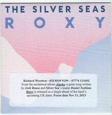 (EM801) The Silver Seas, Roxy - 2013 DJ CD