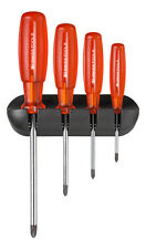 PB Swiss Tools PB 6242 Screwdriver Set Phillips with Wall Rack Multicraft