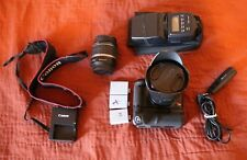 Canon EOS Digital Rebel XSi / EOS 450D 12.2MP Digital SLR Camera W/ Many Extras