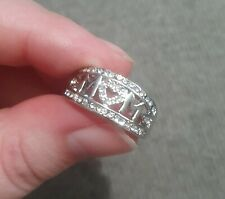 Mom/Mum/Mam Ring - Size 8