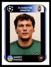 Panini Champions League 2010-2011 Andriy Pyatov FC Shakhtar Donetsk No. 499