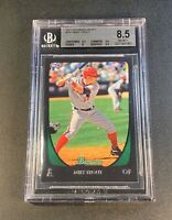 MIKE TROUT 2011 BOWMAN DRAFT #101 ROOKIE RC NM-MINT+ BGS 8.5 W/2 9.5 SUBGRADES