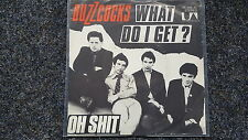 Buzzcocks - What do I get?/ Oh shit 7'' Punk Single GERMANY