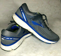 Brooks Ghost 11 - Size 12 B 1102881D006 Running Shoes Mens Grey/Blue Narrow