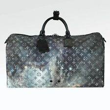 100% Authentic New Louis Vuitton Monogram Galaxy Keepall 50 RARE! 9b7559683f0bd